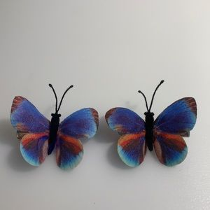 BRAND NEW Butterfly Hair Clips